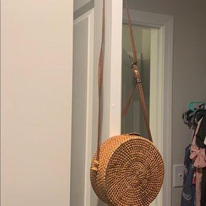 Bamboo purse